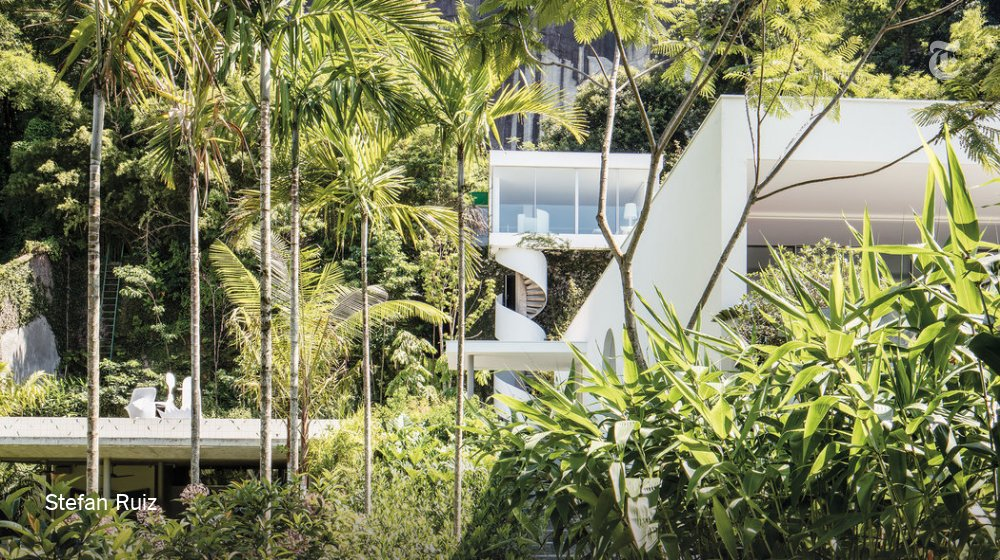 Oscar Niemeyer defined modern Brazil. Now, an artist Is rethinking one of his houses. nyti.ms/2Pph6WO