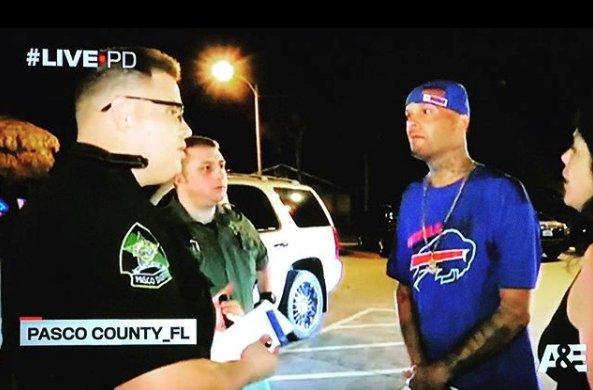 Bills Fan Deals With Florida Man Cops On Live PD