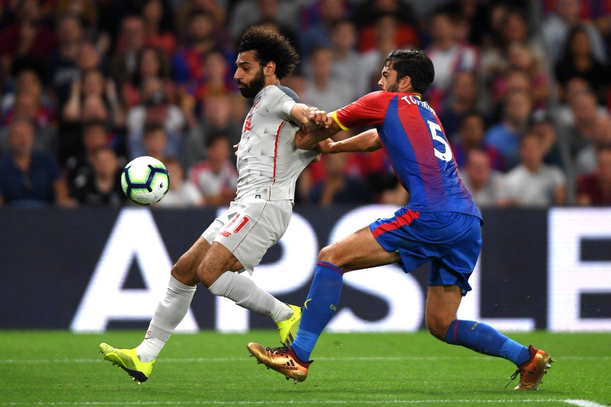 Chấm điểm kết quả Crystal Palace 0-2 Liverpool