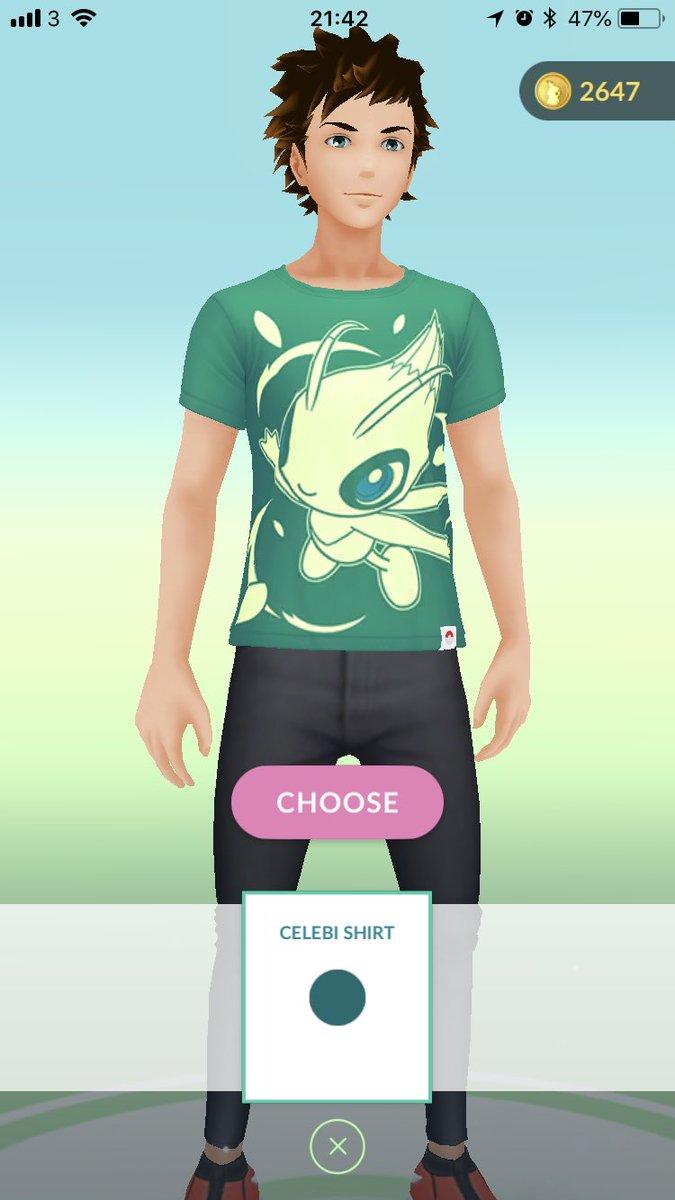 Serebii Update: The Celebi Shirt and HeartGold & SoulSilver Trainer attire are now available serebii.net/index2.shtml