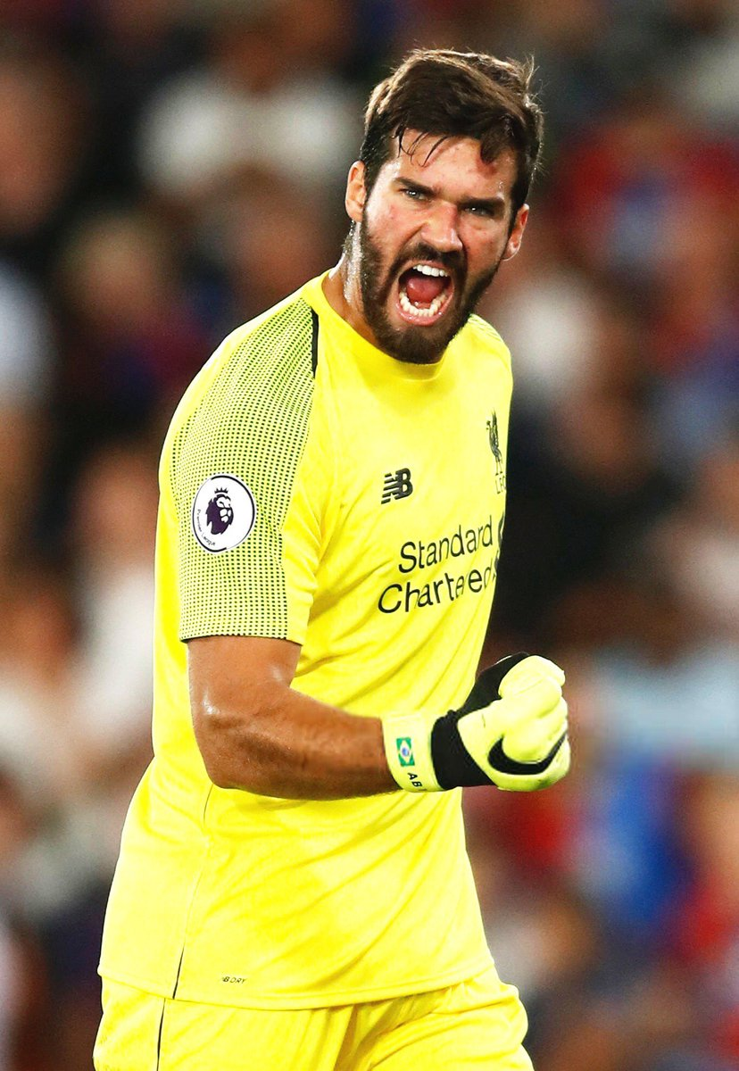 Premier League games  Clean sheets  @Alissonbecker - the only keeper in the top flight that boasts that record <br>http://pic.twitter.com/P5dLxblcwg