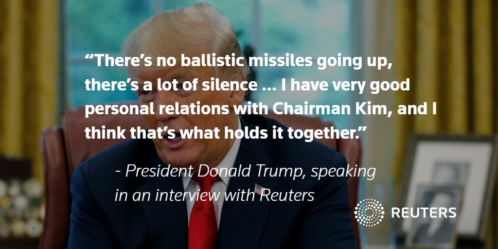 EXCLUSIVE: Trump says 'most likely' to have a second meeting with North Korea's Kim Jong Un https://t.co/vxeMdpTpsx https://t.co/ClRvksxo0m