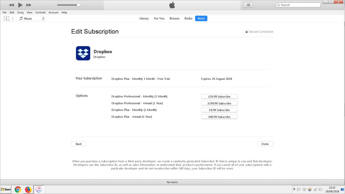 how to get itunes subscription