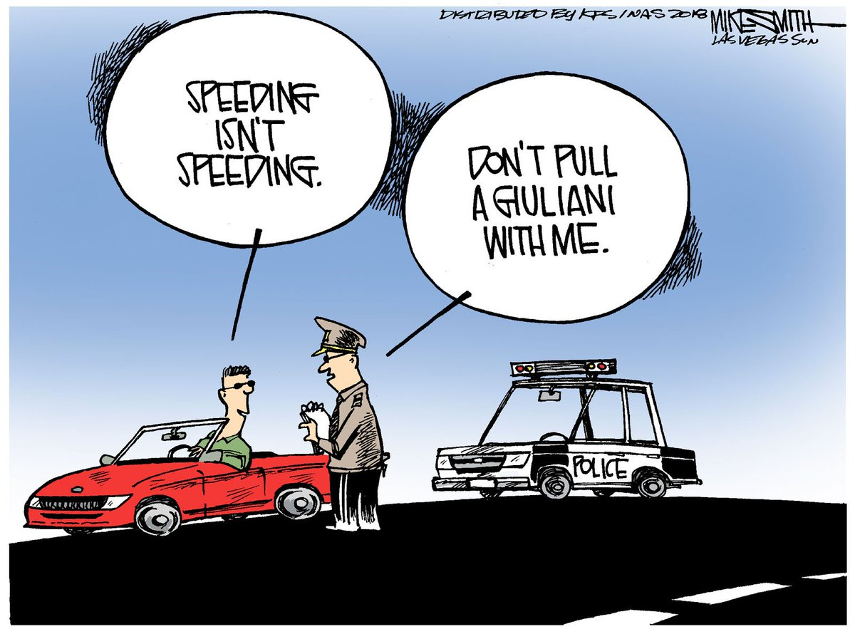 Truthiness with #RudyGiuliani  #TruthIsntTruth  See more cartoons at: https://t.co/3IfREziY7b