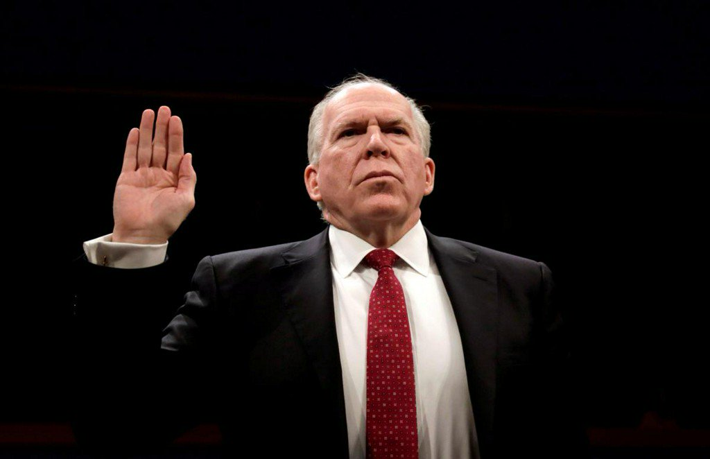 New outcry over Trump's revocation of Brennan security clearance https://t.co/3ESUxGcp6S https://t.co/slVGLjovJo