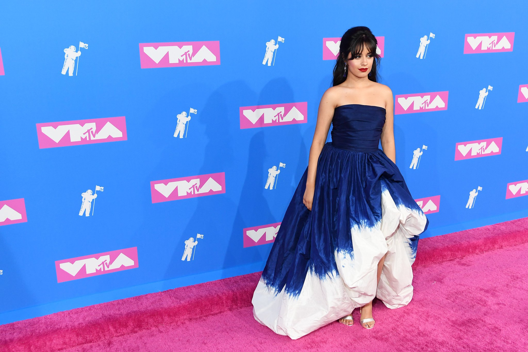 Slay us, @Camila_Cabello! Queen of the #VMAs pink carpet! https://t.co/OAdbGkIW4M https://t.co/c3KbG0zfw8