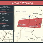 Image for the Tweet beginning: Tornado Warning including Steele MO,
