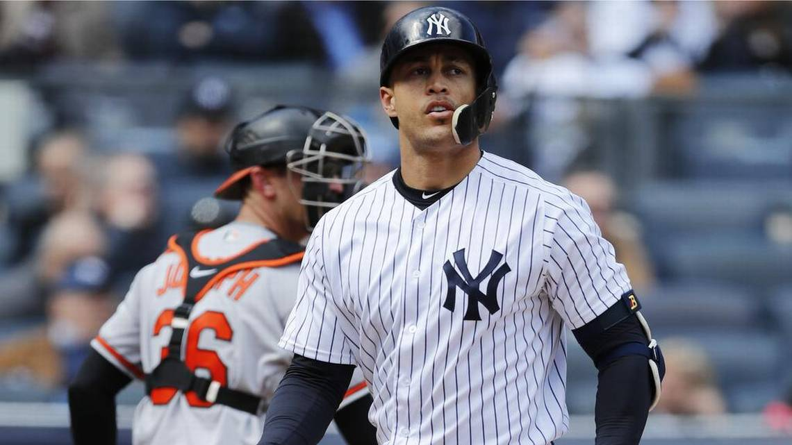 Stanton feels 'weird' returning to Miami as a Yankee for the first time. We do, too. https://t.co/bm9sx9h8Jc