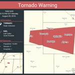 Image for the Tweet beginning: Tornado Warning including Pontotoc MS,