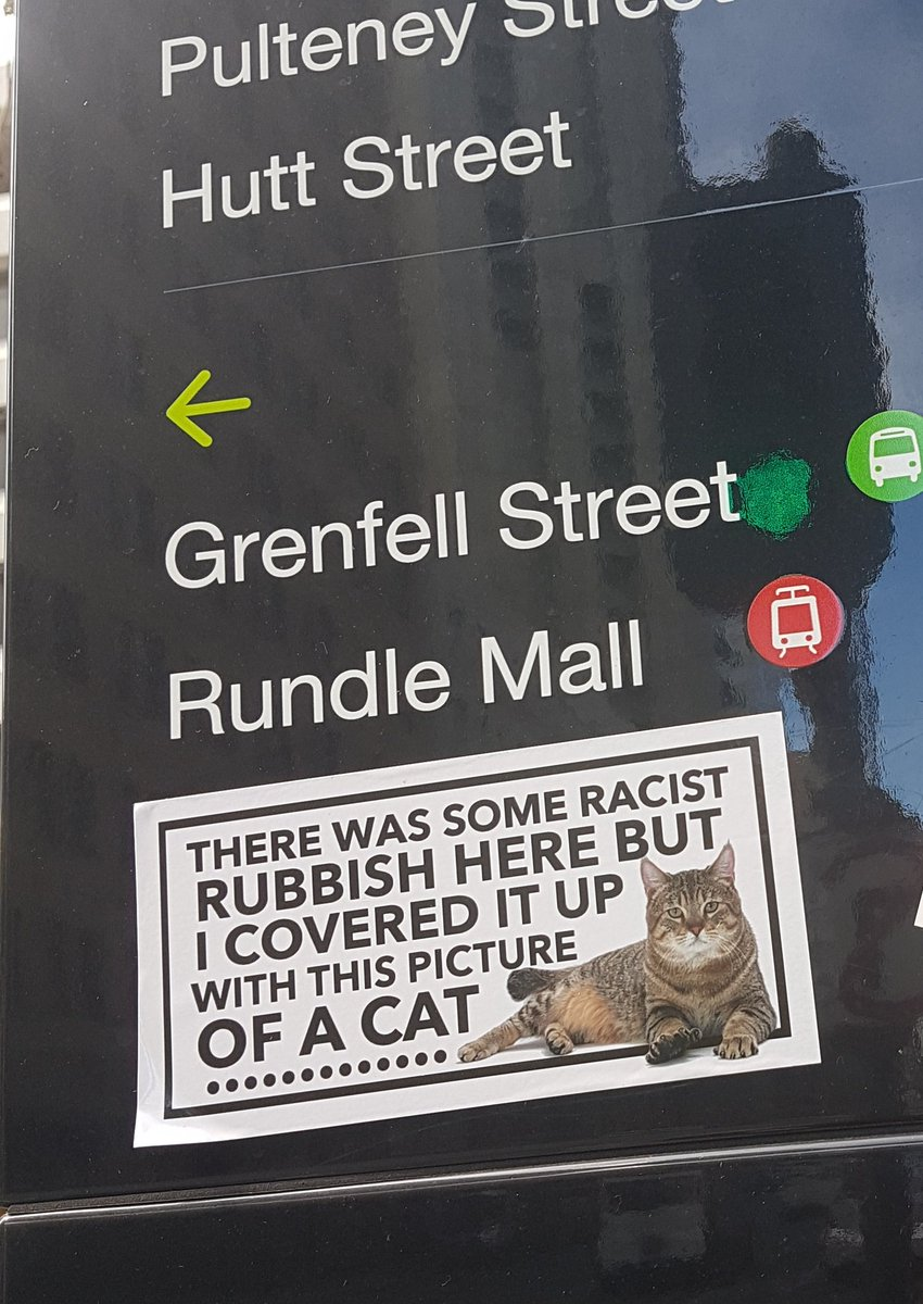 Whoever this Adelaide hero is: bless you.