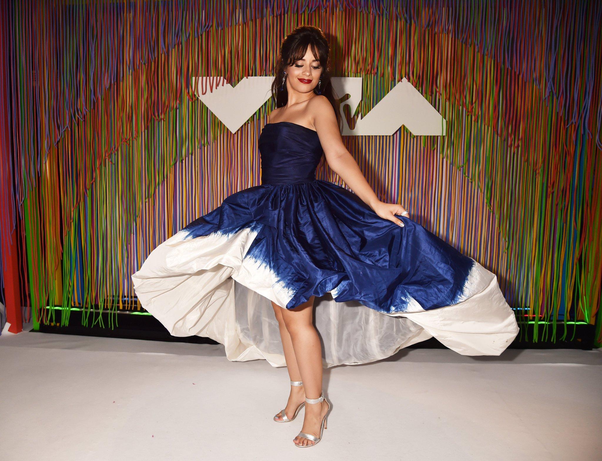Permanent #mood = @Camila_Cabello at the #VMAs! Twirl it! https://t.co/OAdbGkIW4M https://t.co/1gm7jtCvq2