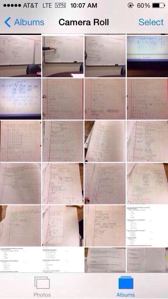 Camera roll is about to be looking like this soon enough