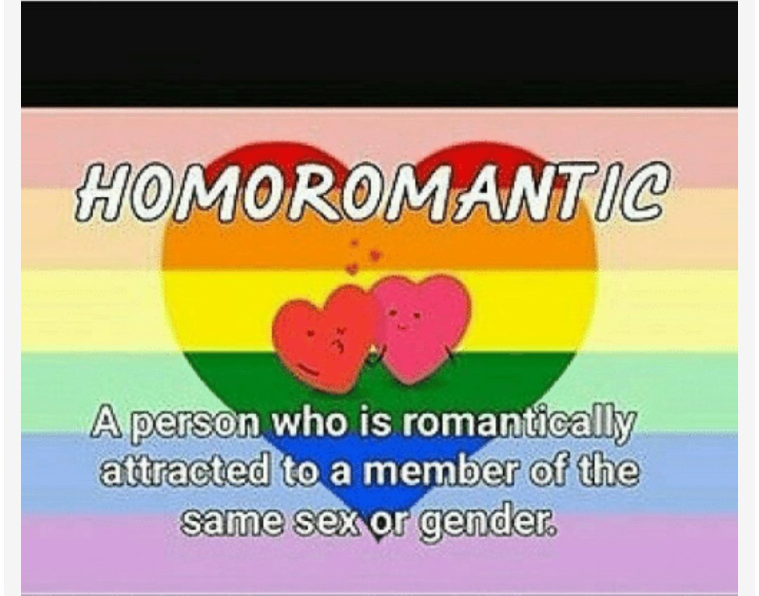 Heteroromantic but homosexual advance