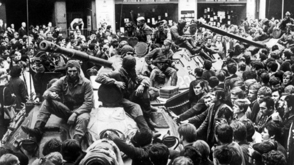 Czechs, Slovaks mark 50 years since Soviets crushed Prague Spring https://t.co/1wX87I9lRX