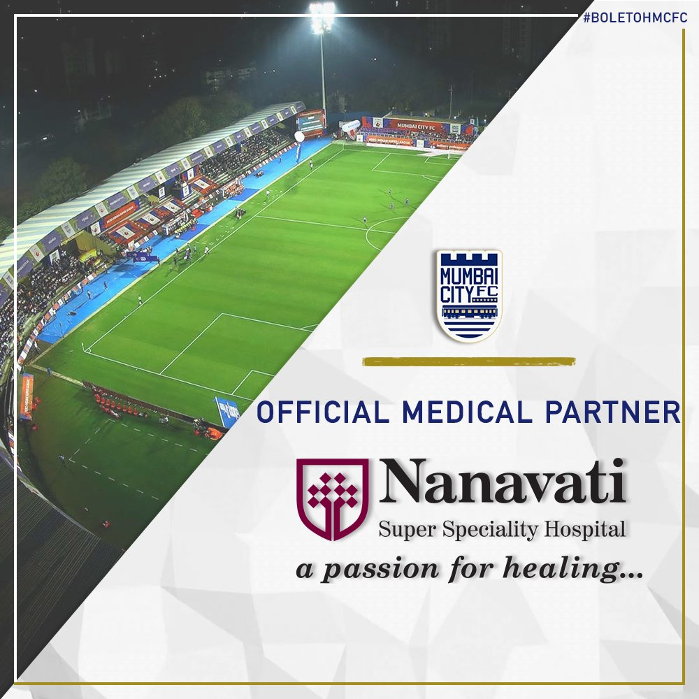 Its a hat-trick! 🔵🔵🔵 Were proud to present @Nanavati_H Super Speciality Hospital, the official medical partner of #MCFC for the third season running! 🏥 #BoleTohMCFC