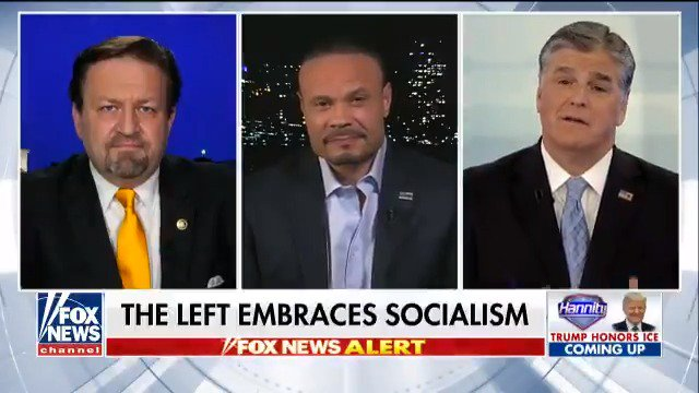 """Socialism is not free stuff. Socialism is death""! @dbongino:  https://t.co/HbAyUK7LBD"