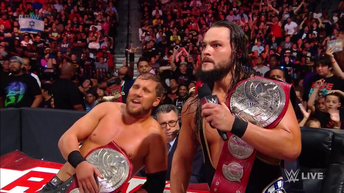A little reminder from #TheBTeam: They are STILL #RAW #TagTeamChampions! @TheBoDallas @RealCurtisAxel