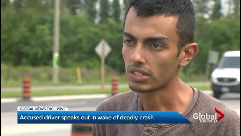 Toronto man charged with impaired driving after fatal crash in Richmond Hill comes back to scene of crash and speaks out to @cmcdonaldglobal  https://t.co/dK5rCc2W6w