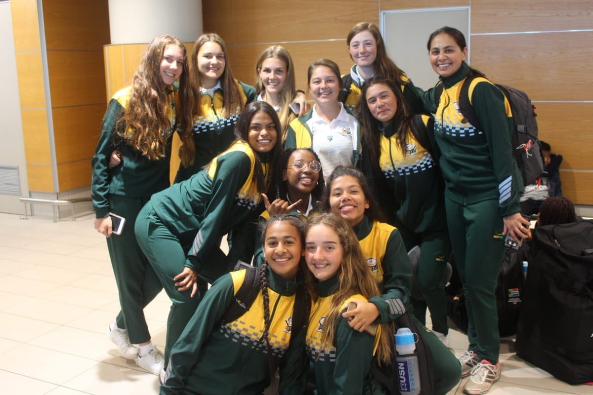 Big up to South Africa's under 18 touch rugby girls team. They won the bronze medal across all divisions at the under 18 world championship in Malaysia, last week, in a tournament that saw Australia win the gold. And the team had to pay R42 000 to represent SA internationally