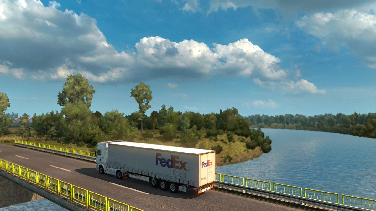 Euro Truck Simulator 2 ProMods + RusMap 🚛 #ProMods #ETS2 Tweet