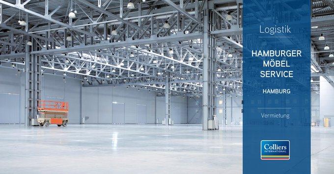 Deal der Woche: #Hamburg<br>Die HMS Hamburger Möbel Service GmbH hat rund 8.000 Quadratmeter Logistik- und weitere 800 Quadratmeter Bürofläche in Hamburg-Billbrook gemietet.  t.co/NOkkgRVmoM