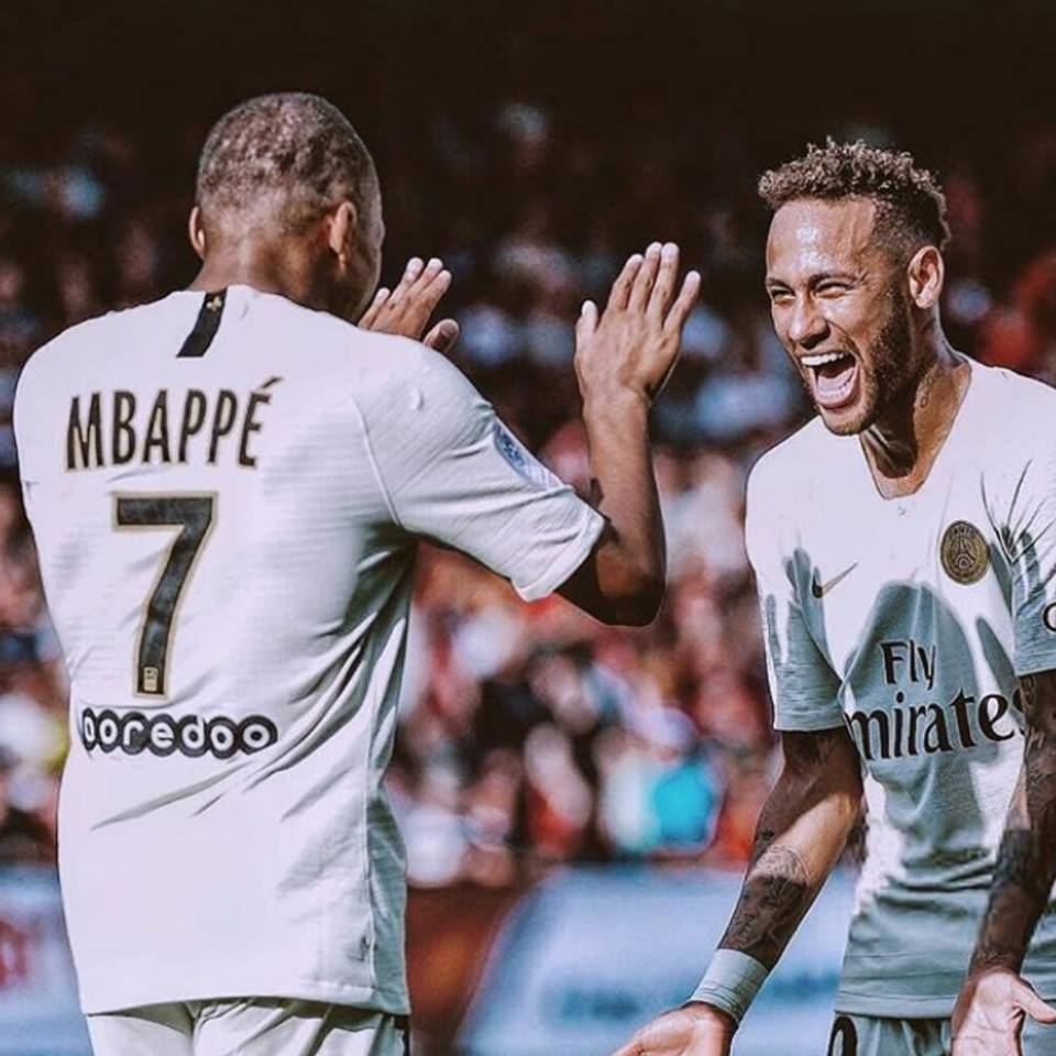 ➔ Neymar con PSG: 30 goles y 17 asistencias en 33 partidos. ➔ Mbappé con PSG: 23 goles y 16 asistencias en 45 partidos. QUÉ DUO.