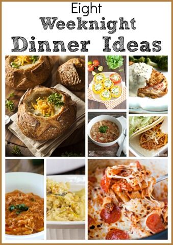 Eight Weeknight Dinner Ideas - Easy Meal Ideas to Make after a Long Day at Work - virginiasweetpea https://t.co/JzdTU75ZVi