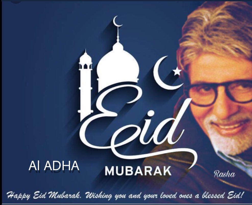Amitabh Bachchan On Twitter T 2907 Greetings For Eid Ul Adha