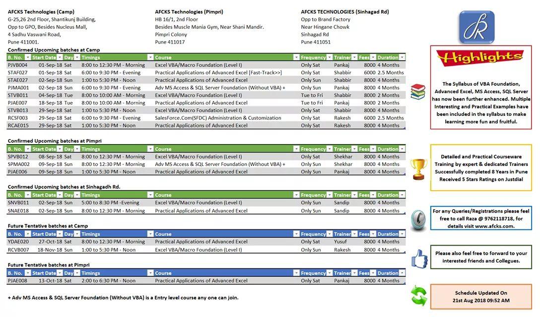 schedule macros in ms access