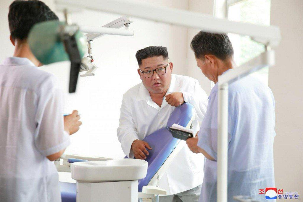 North Korea's Kim criticizes his country's health sector https://t.co/AEBoAYA6V9 https://t.co/81tta8hXez