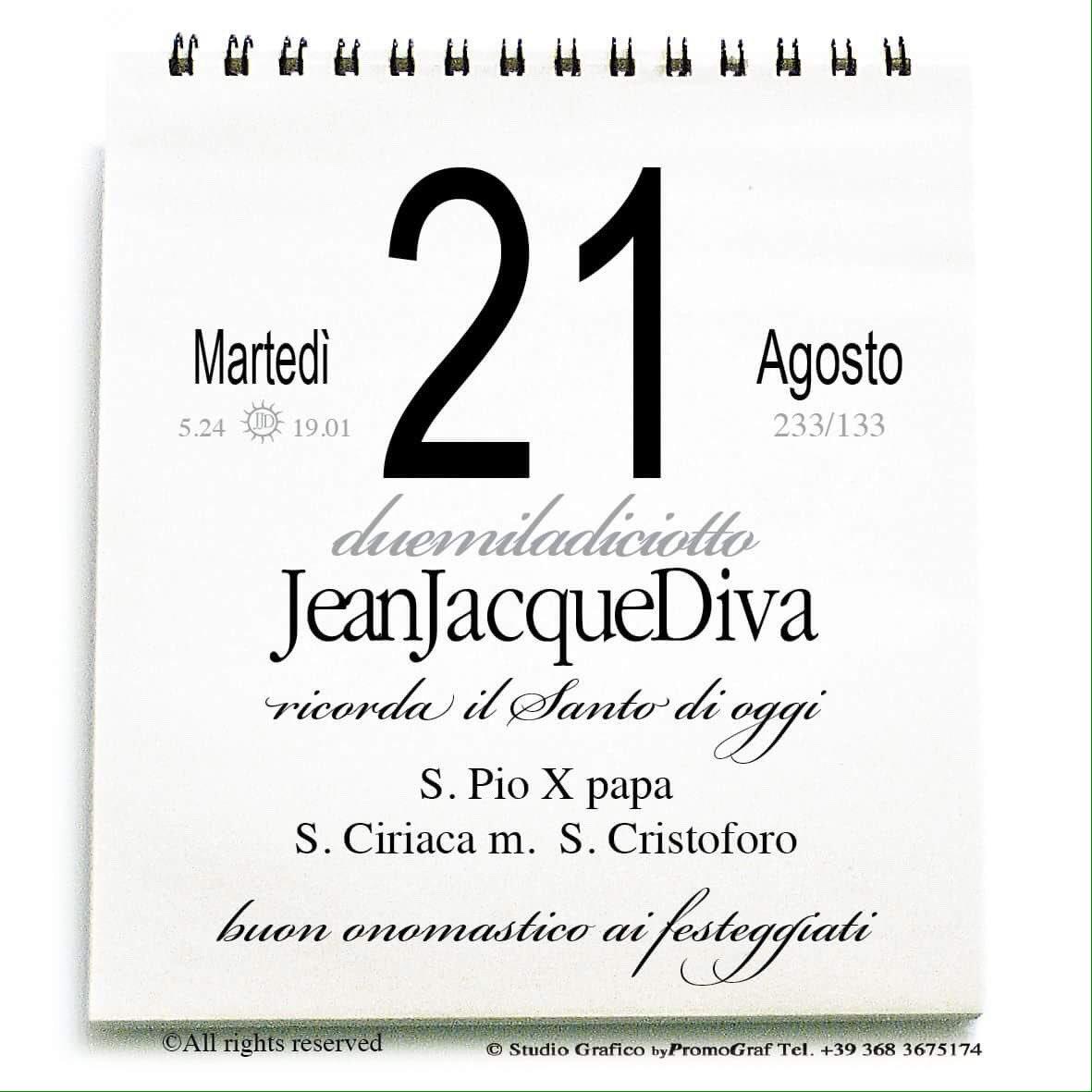 Santi Del Calendario.Jeanjacquediva On Twitter Buondi