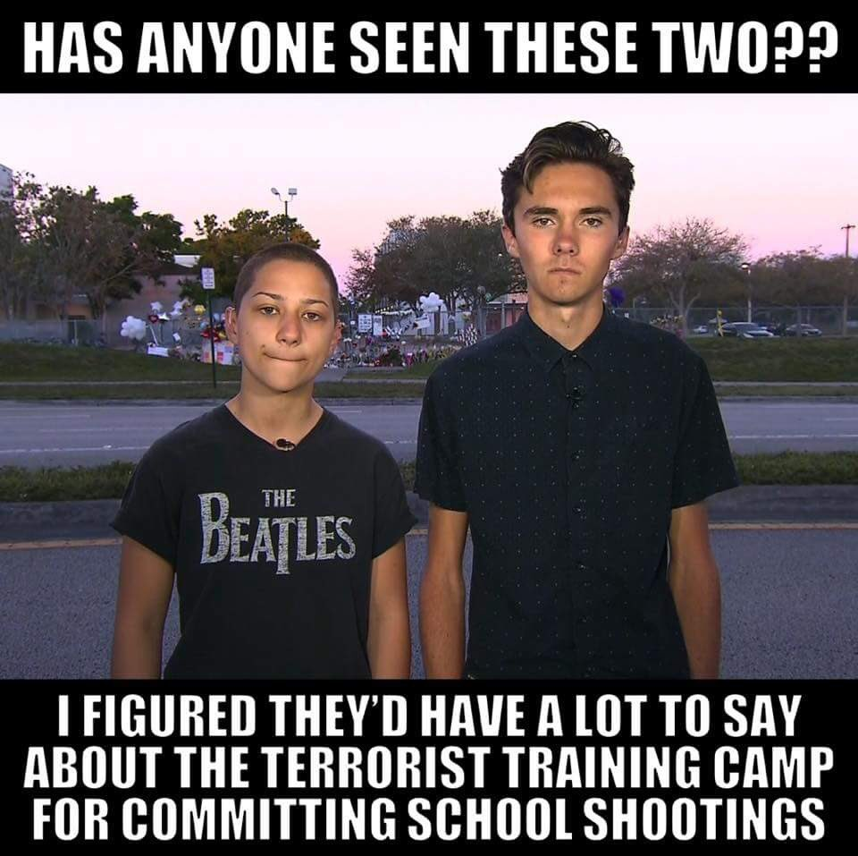 @davidhogg111 @lisaxmiller @davidhogg111 and @Emma4Change are hypocritically silent on this. #LiberalLogic #Typical #Liberal #Islamic #Terrorism #SchoolShooting