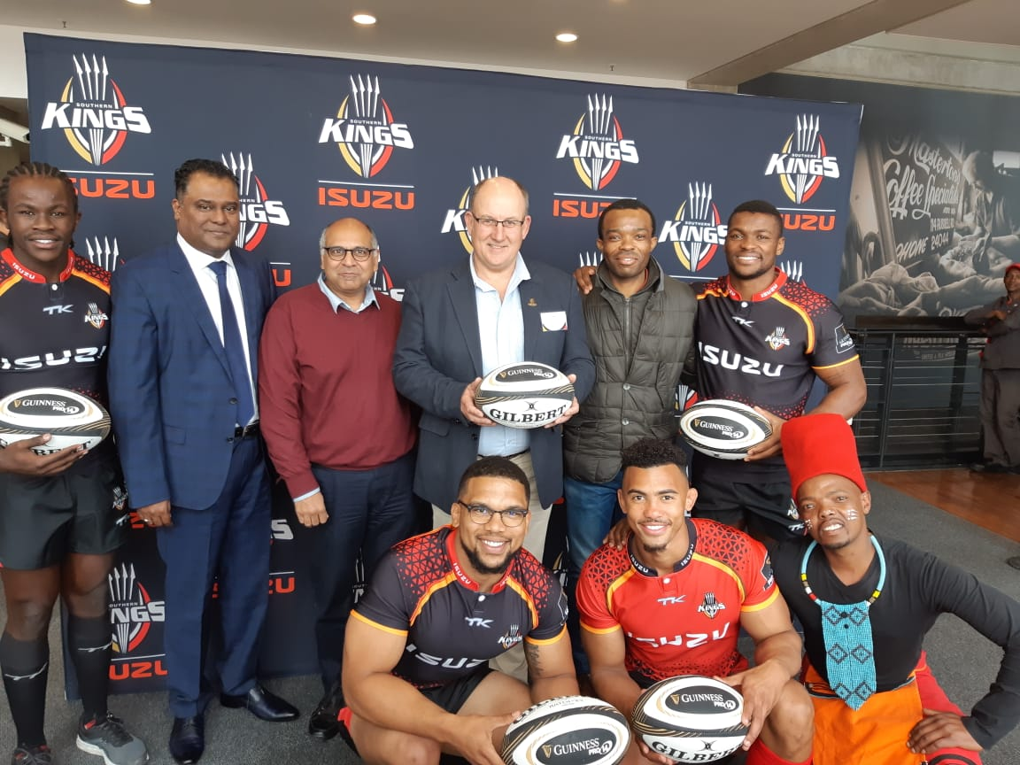 @isuzusa held a media launch at our stadium at the World of Windows venue. They are the official sponsors of the Isuzu Southern Kings and the first black owned rugby franchise in South Africa. For enquiries please contact us on 041 408 8900. #nmbstadium #ourstadium #venuehire
