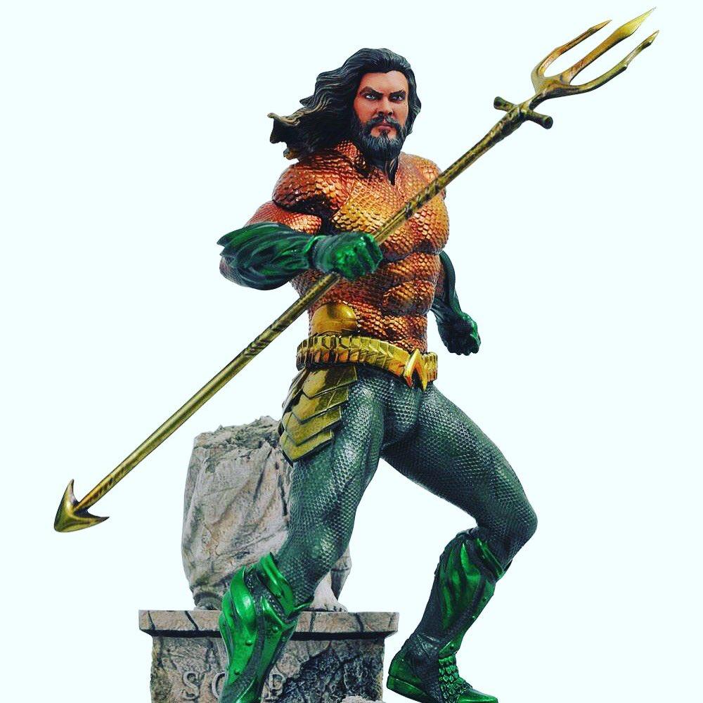 Diamond Select statua Aquaman DC Movie Gallery info scrivere a collezionismopertutti@gmail.com #diamondselect #statue #statua #statuecollectors #collectibles #collezione #dc #dccomics #dcuniverse #aquaman