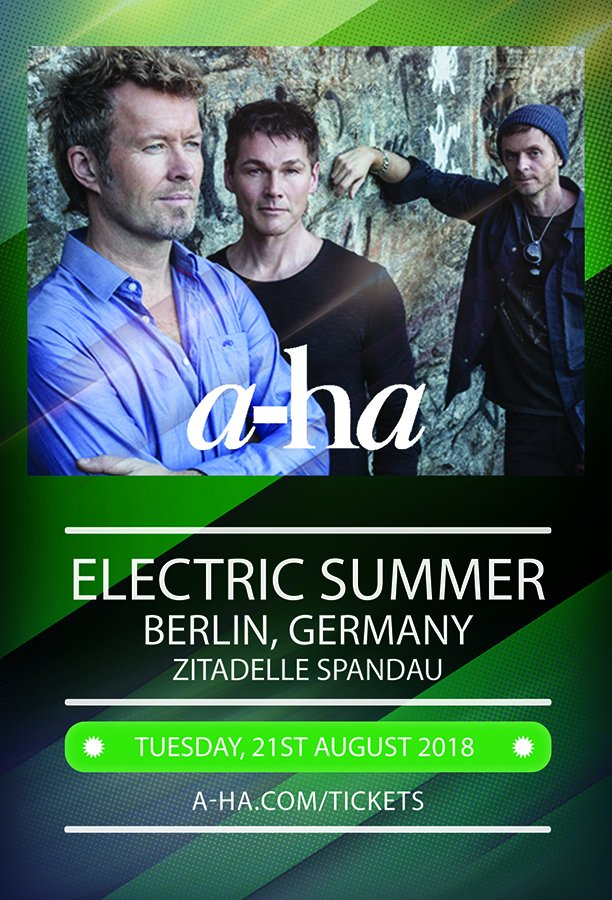 If youve been counting down to the show in Berlin, the countdown is almost over! Enjoy the show tonight, and share your impressions here for those who couldnt be there. Need tickets? eventim.de/tickets.html?f… #electricsummer
