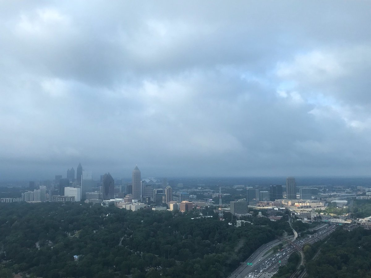 Hey! All is not lost over @MidtownATL despite the terrible #atltraffic the ☀️ is trying to break through the ☁️ @wsbradio #skycopter @wsbtv #captncam
