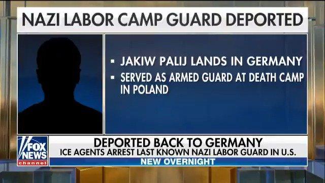 ICE agents arrest last known Nazi labor guard in U.S. https://t.co/U75OdUW6b4 https://t.co/eNklGcgaJH