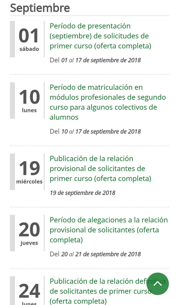 Fp Andaluza On Twitter Oferta Educativa De Ciclos