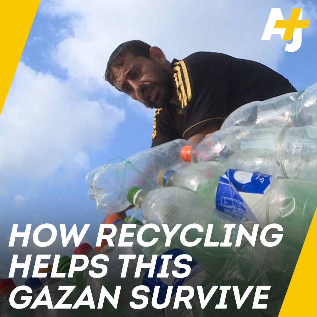 Israels blockade on Gaza has caused extreme unemployment, but one man has an ingenious solution to provide for his family.