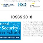 Image for the Tweet beginning: The International Cyber Security Summer