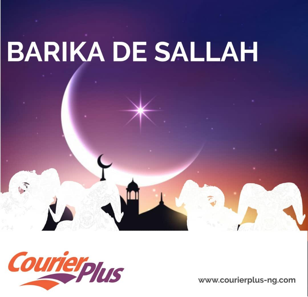 Happy Eid to all our Muslim Friends 💫#happysallah #courierplus