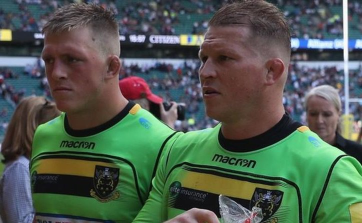test Twitter Media - Northampton Saints have appointed prop Alex Waller and England skipper Dylan Hartley as co-captains for the upcoming season.  More 👉 https://t.co/FEuB5BHpuL  🏉#bbcrugby https://t.co/NQKaSKm2sr