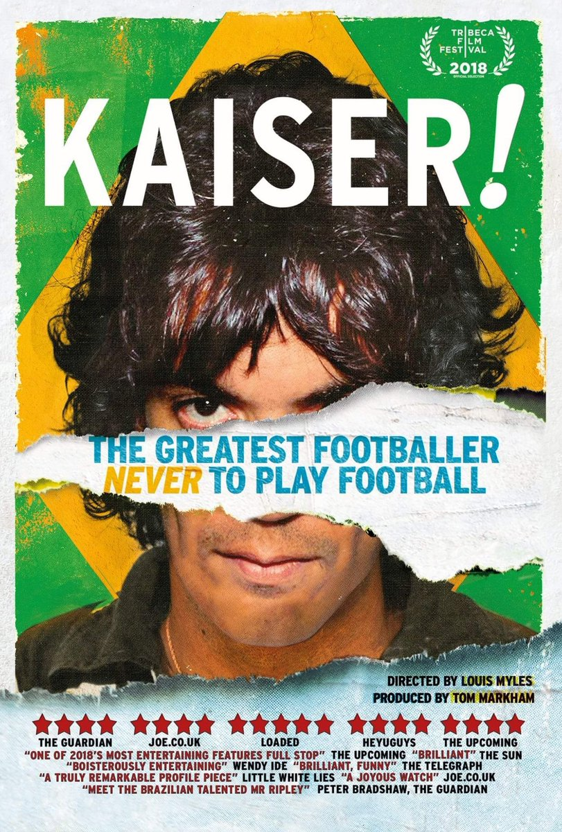 A few tickets left for tonights Q&A screening of @kaiserfilm at @vuecinemas Shepherds Bush at 7pm if you fancy coming along - details here: myvue.com/cinema/shepher… #kaiser #kaiserfilm