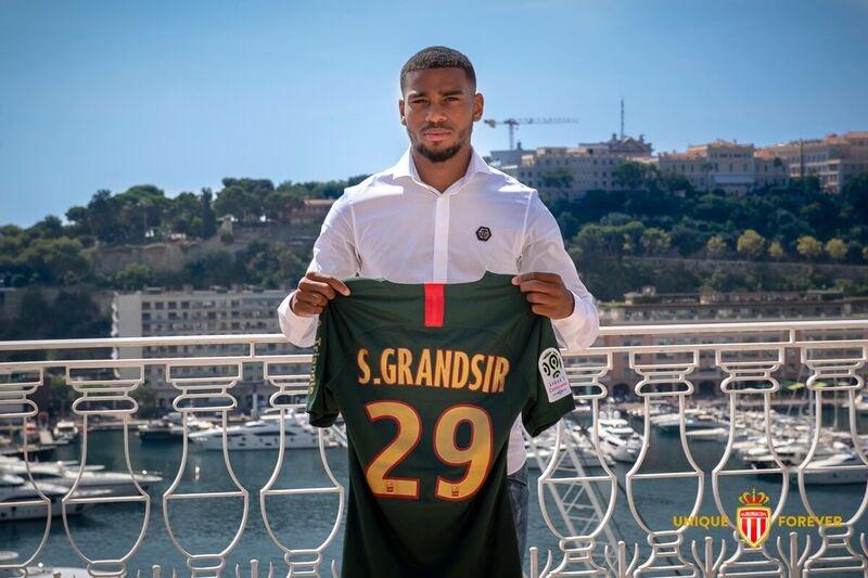 Maillot Extérieur AS Monaco Samuel GRANDSIR
