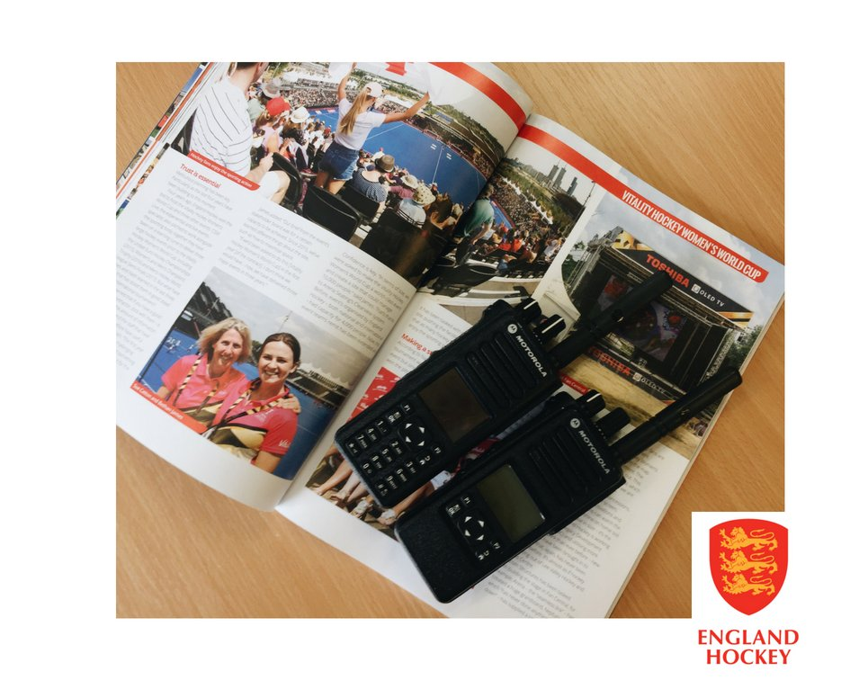 #TRBOTuesday - Proud to have supported our long-standing client @EnglandHockey at the Vitality Hockey Women's World Cup with a fleet of @MotSolsEMEA #digitaltwowayradios |As featured in Septembers @StandOutmag https://t.co/8SLyXS1uJG  #radiohire #eventtech #twowayradio #mototrbo