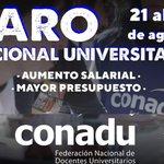 #ParoUniversitario Twitter Photo