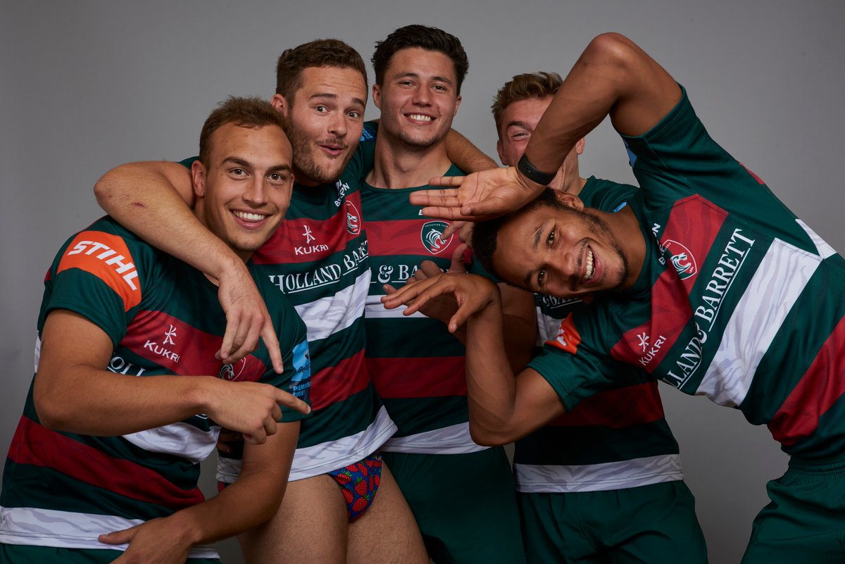 test Twitter Media - Leicester Tigers about to drop the most controversial mixtape of 2018 🔥 https://t.co/mgU87HEGHa