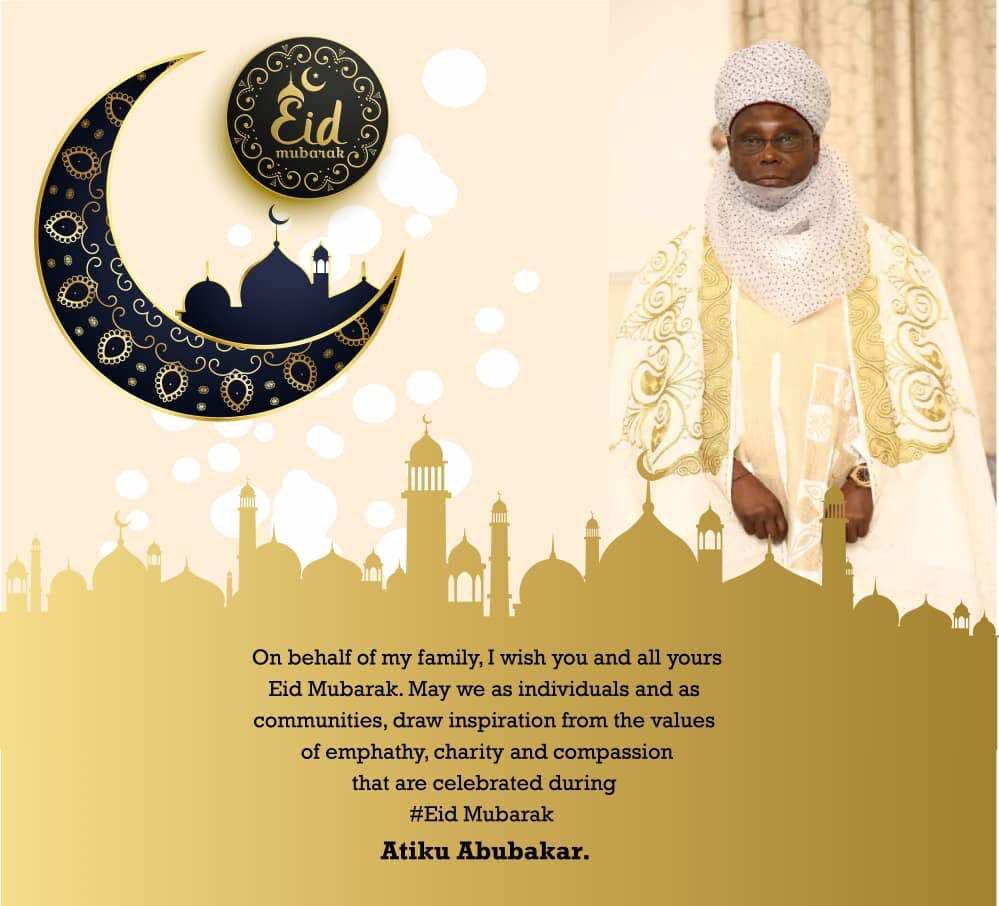 Atiku Abubakar On Twitter On Behalf Of My Family I Wish You And