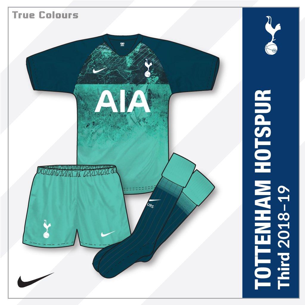 John Devlin On Twitter Tottenham Hotspur Third Kit 2018 19 Produced By Nike Truecolours Footballkits Tottenhamhotspur Spurs Nike 2018 19kits Spursshirts Spurskit Https T Co Zdayrbyjye
