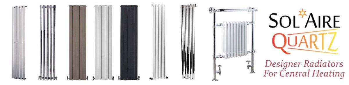 AURA Pax Classic Traditional ELECTRIC Heated Towel Rail /& Column Radiator